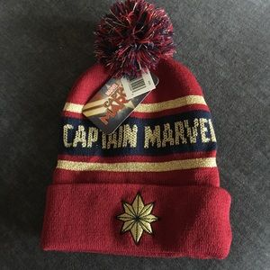 COPY - CAPTAIN MARVEL BEANIE